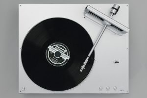 Ballfinger turntable top view