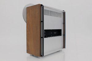 Ballfinger open reel tape recorder back view