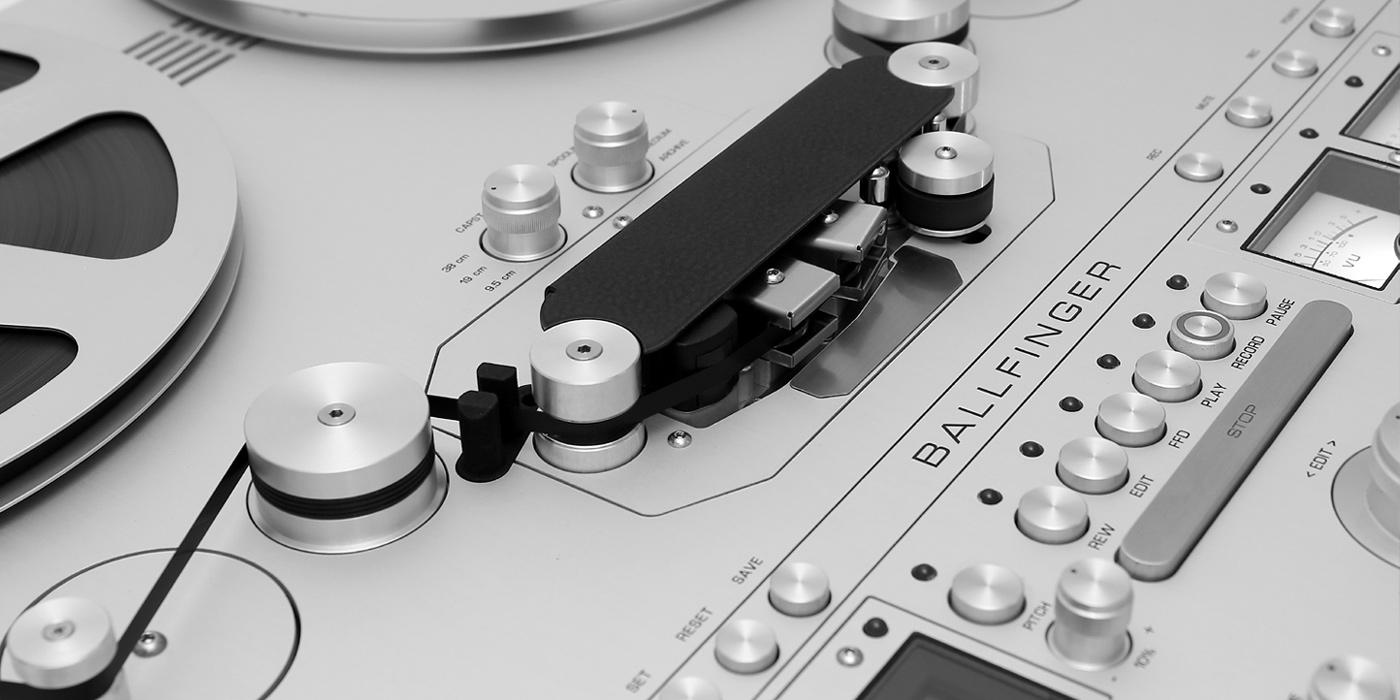 Tonbandmaschine Ballfinger M 063 H5 Banner