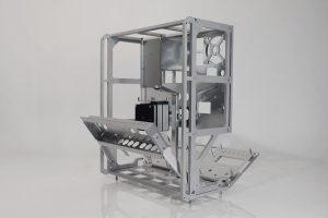 Ballfinger open reel tape recorder aluminium frame