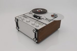 Ballfinger open reel tape recorder bottom view
