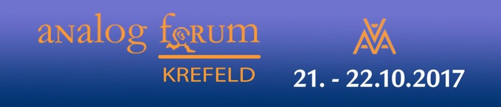 Analog Forum Krefeld 2017