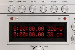 Tonbandmaschine Ballfinger M 063 H Zählwerk
