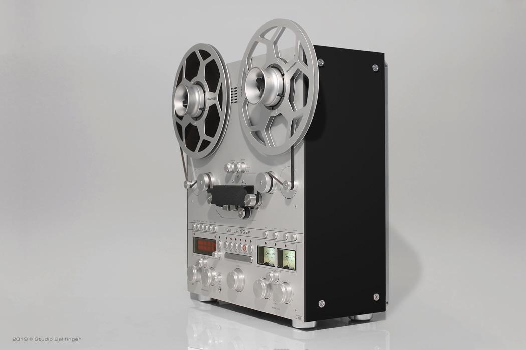 Analog Open Reel Tape Recorder M 063 H5 Ballfinger Leading